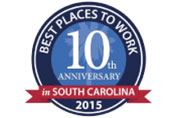 CCC Named Top 10 Places to Work in SC for 2015